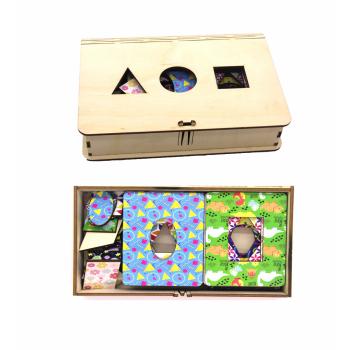 Досочки Сегена, Логическая игра, Игрушка деревянная развивающая